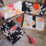 Petites pochettes japonaises