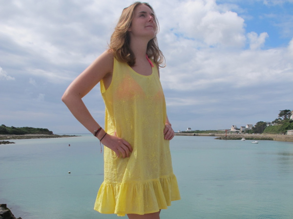 fashionmicmac-robe chasuble fin