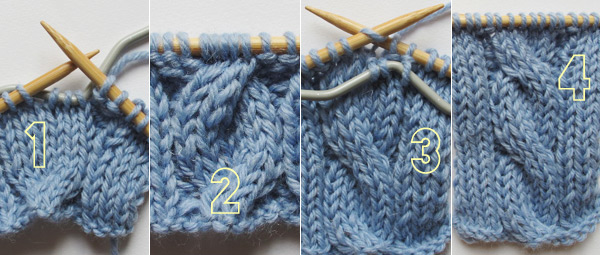 Tricoter une torsade simple fashionmicmac - Comment faire une diminution au tricot ...