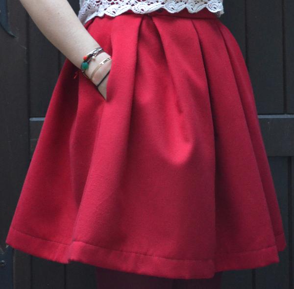 La jupe à gros plis | Fashionmicmac