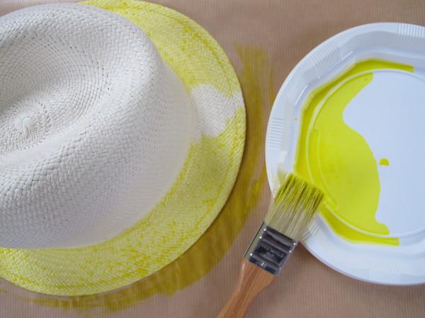 Chapeau peint
