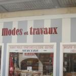 La boutique MODES & TRAVAUX