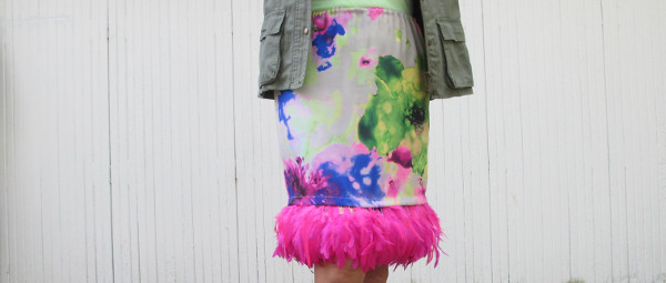 fashionmicmac-jupe plumes UNE