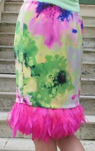 fashionmicmac-jupe plumes dos