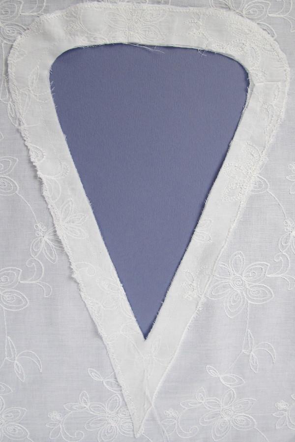 White Poncho Blouse 60