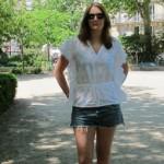 La blouse poncho