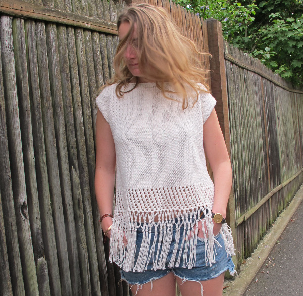 fashionmicmac-pull franges fin