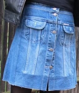 fashionmicmac-jupe récup' jean