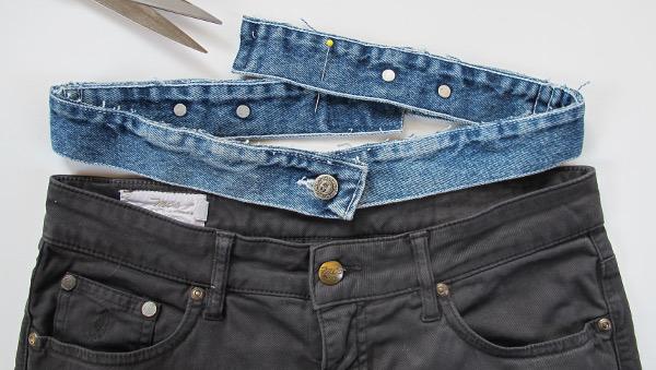 fashionmicmac-jupe trapèze ceinture