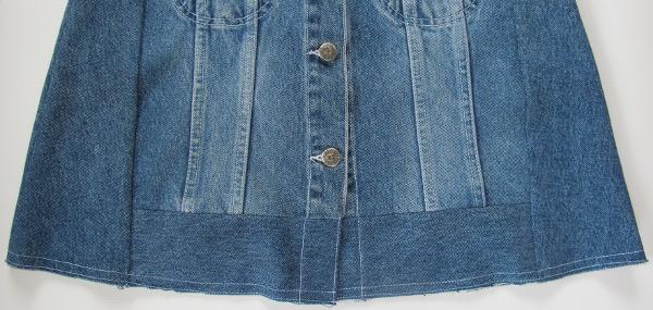 fashionmicmac-jupe trapèze ourlet
