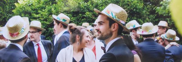 fashionmicmac-mariage tropical chapeaux portés