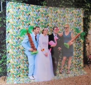 fashionmicmac-mariage tropical photocall loin