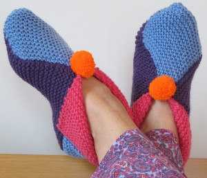 fashionmicmac-chaussons Arlequin portés