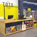 Le relooking des magasins Toto