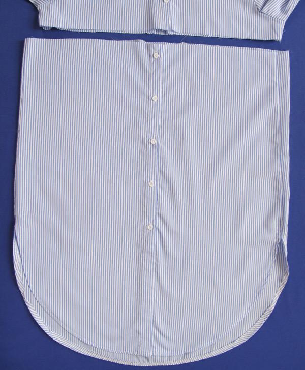 fashionmicmac-robe rayures chemise bas