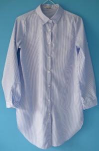 fashionmicmac-robe rayures chemise base