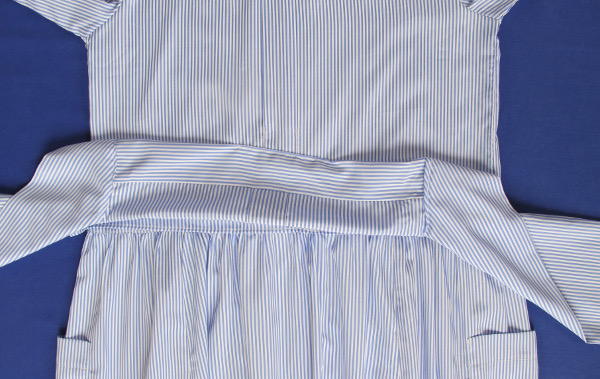 fashionmicmac-robe rayures chemise ceinture