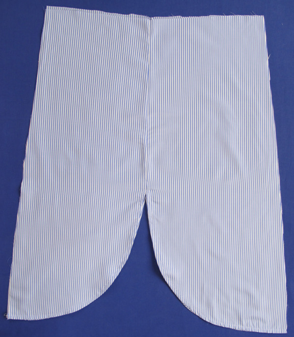 fashionmicmac-robe rayures chemise côtés