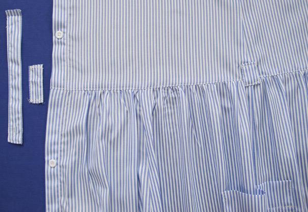 fashionmicmac-robe rayures chemise coulants