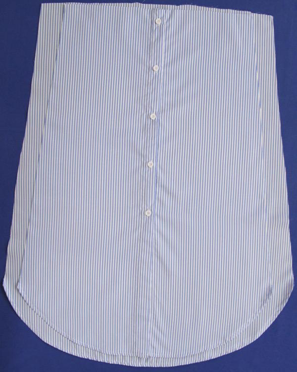 fashionmicmac-robe rayures chemise dev dos