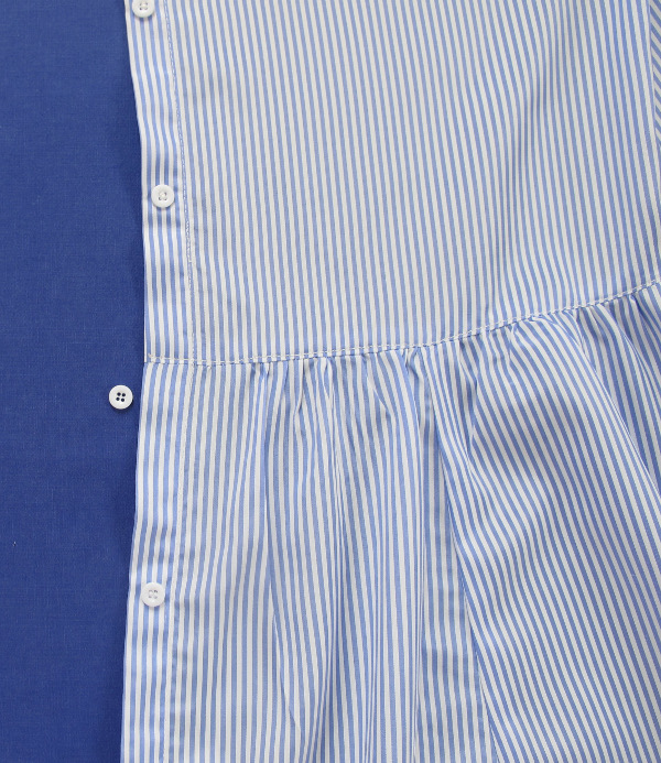 fashionmicmac-robe rayures chemise fin