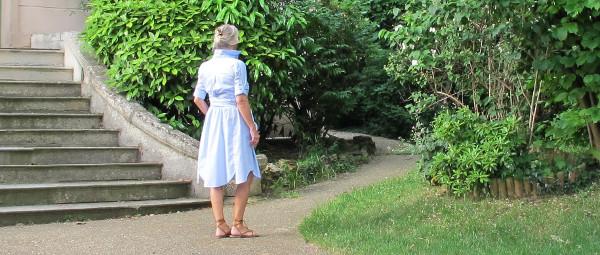 fashionmicmac-robe rayures chemiseUNE