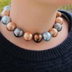 fashionmicmac; collier perles choker