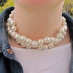 fashionmicmac.collier perles Tour de cou