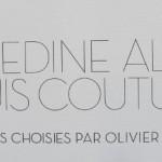 Association AZZEDINE ALAÏA, hommage au couturier